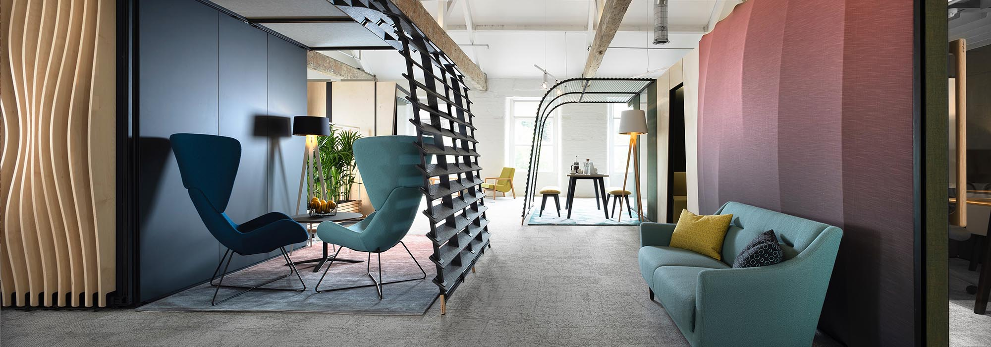 Think Furniture Hybrid Office Design