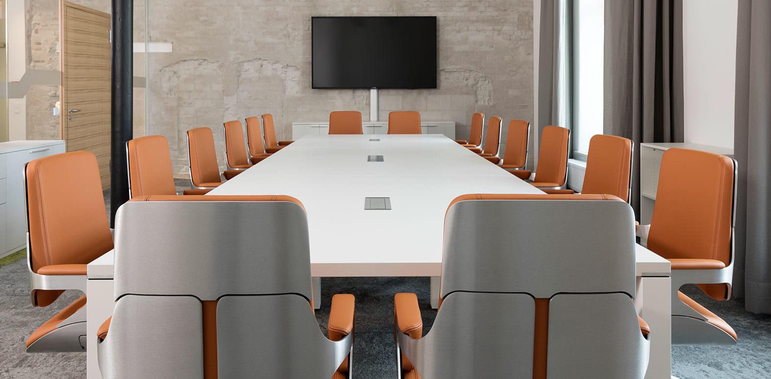 Interstuhl Silver Chairs 262S In Situ 2