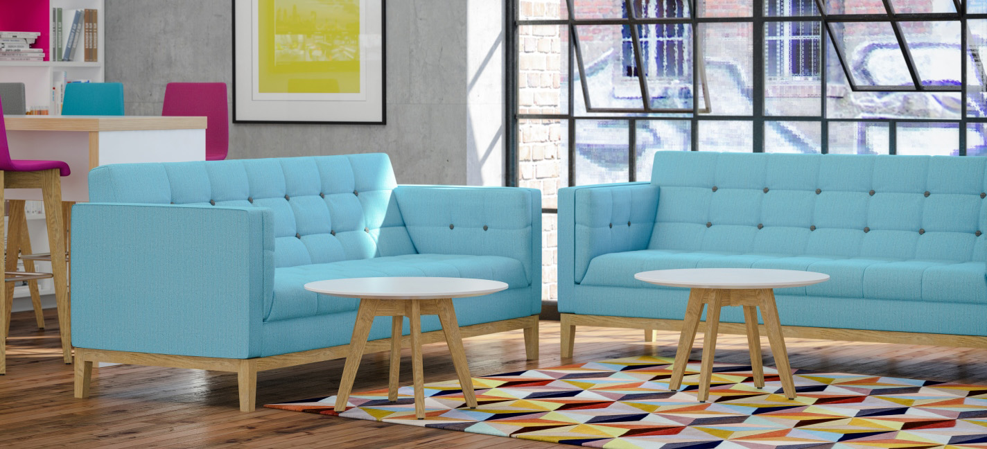 Frovi Jig Sofa Blue