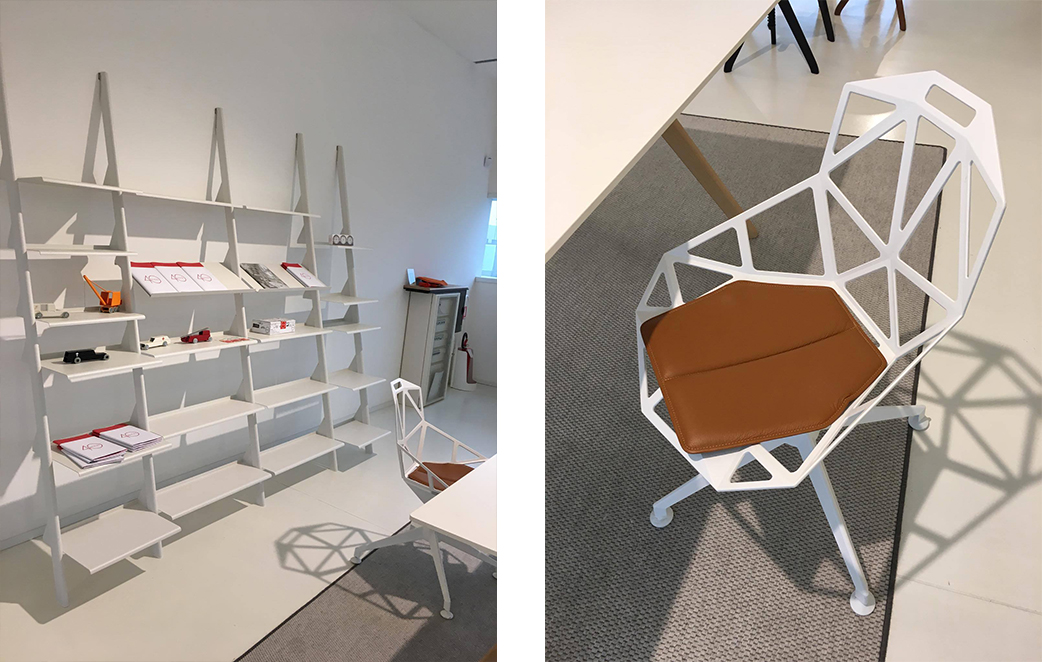 Magis Tyke Shelving & Chair One 4 Star Base