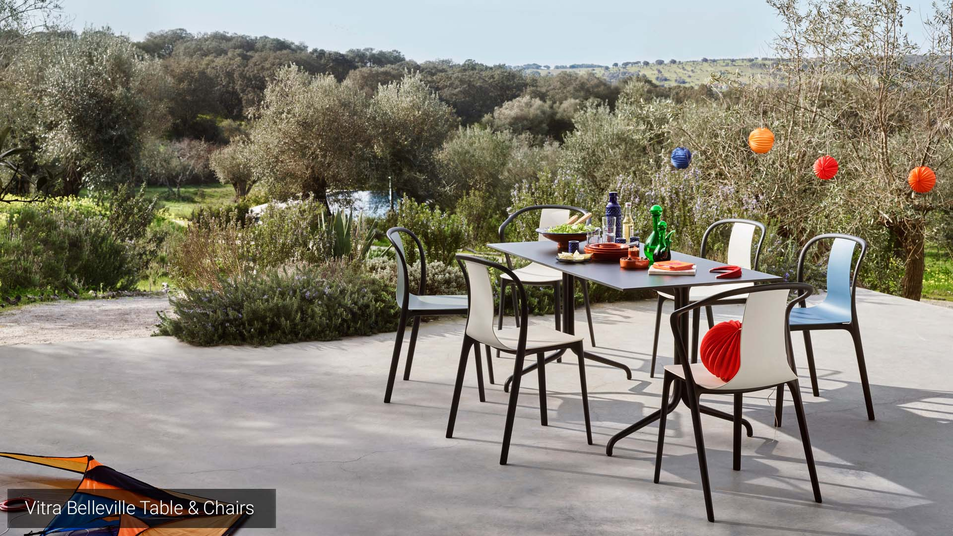 Vitra Belleville Table & Chairs