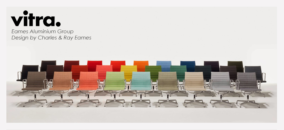 The eames aluminium group designed by charles ray eames for Eames alu chair nachbau