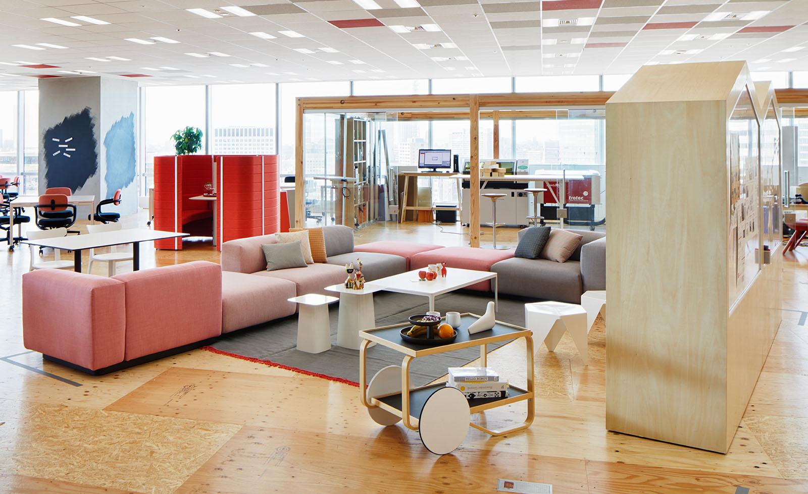Think Furniture - Hybrid Office Design - Vitra Hybrid Office