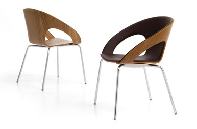Product Code: BCS 02. The striking design and generous and supportive shape make the Kirkos chair a favourite for cafe and breakout areas.