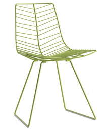 Arper Leaf Sled Chair Non-Stacking