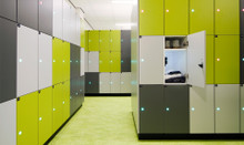 Euroworkspace Simplicity Keyless Lockers and Storage