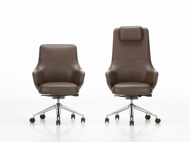 Vitra Grand Executive by Antonio Citterio Task High and Low Back