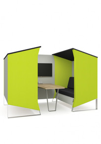 Elite Furniture Hangout Double Booth