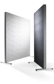 Abstracta Alumi Floor Standing Screen