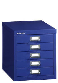 Bisley Multidrawers™ 5 Drawer Storage Unit
