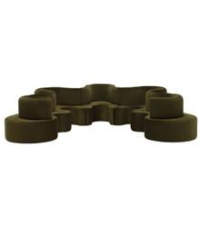 Verpan Cloverleaf  5 Unit Sofa