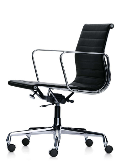 Vitra eames aluminium task chair ea 117 by charles ray eames for Eames ea 117 replica
