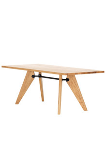 Vitra Table Solvay by Jean Prouve