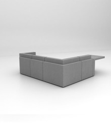 Isomi Volume Concrete Reception Desk
