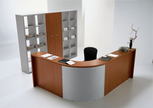 Quadrifoglio Modular Reception Desk Range