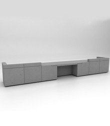 Isomi Lintel Reception Desk
