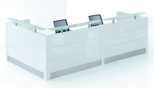 Holmris Reception Desk White