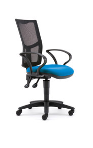 Pledge Two Task Chair With Arms - Mesh Back