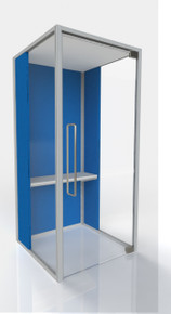 Frem Dimension Lite Telephone Booth
