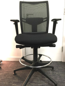 CLEARANCE Elite Loreto Mesh Back Task Chair Draughtsman Height