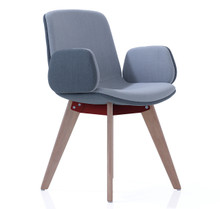 Orangebox Cubb Chair Wood Base