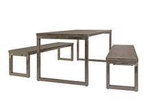 Frovi Wood Block Table