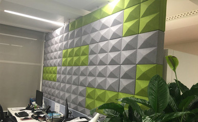 Ocee Design Fabricks Acoustic Wall System