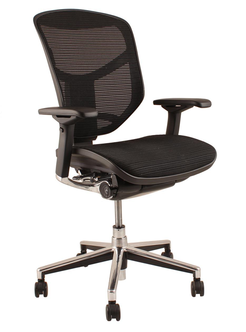 Mesh Office Seating Enjoy Task Chair Think Furniture