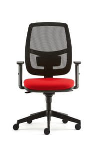 Pledge Lunar Mesh Back Task Chair