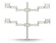 Metalicon Kardo Pole Mounted Quad Monitor Arm