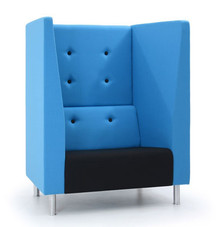 Verco Jensen-Up Single Seater High Back Sofa