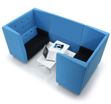 Verco Jensen-Up 4 Person High Back Booth