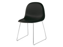 Gubi 3D Dining Chair - Sledge Base