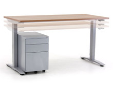 Verco Oblique Adapt Crank Height Adjustable Desk