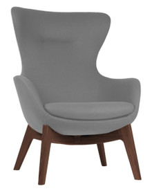 Frovi ILK Lounge Chair 4 Leg Wood Base