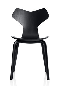 Fritz Hansen Grand Prix Chair Wooden Leg