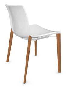 Arper Catifa 53 Chair Solid Oak Base - Polypropylene