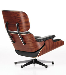 Vitra Eames Lounge Chair Santos Palisander Rear View