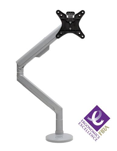 CMD Reach Monitor Arm Silver