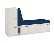 Simplicity Convergence Chaise Longue - 7x Small Lockers