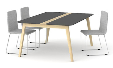 Nova Wood Meeting Table