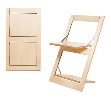 Ambivalenz Flapps Folding Chair - Birch