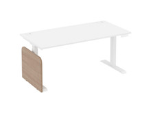 Elite Progress Plus Electric Height Adjustable Desk - White