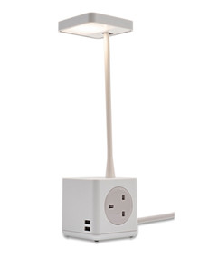 EX DISPLAY CBS Cubert Desk Light - White