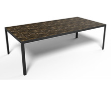 Rawside Bad Boy Table Fumed Top Finish - Angle