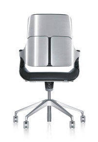 Interstuhl Silver Swivel Chair 262S - Rear View