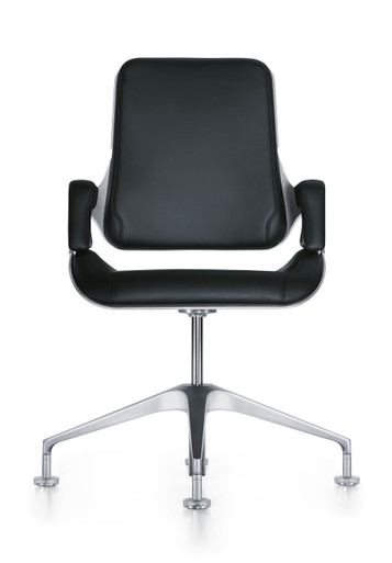 Interstuhl Silver Conference Chair 151S - Front View