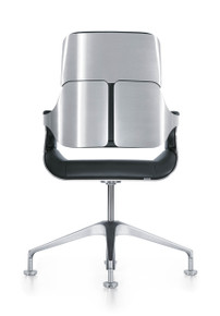 Interstuhl Silver Conference Chair 151S - Rear View