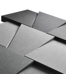 Ocee Design Tessellate Trapezium Acoustic Panels (Alternating Panel Directions)