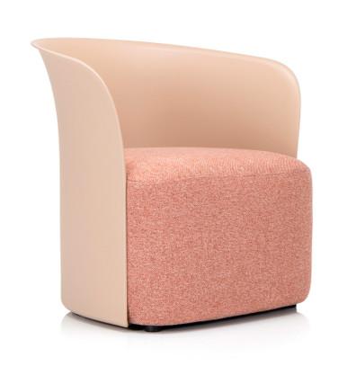 Elite Teo Tub Chair Mocha Shell